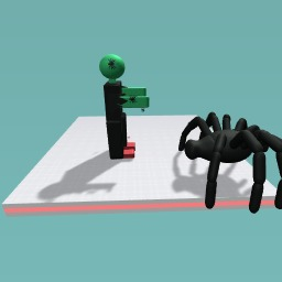 Frankenstein with spiders