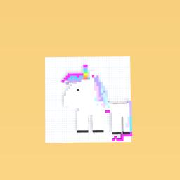 Cute baby unicorn!