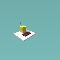 Chocolate & a juice box