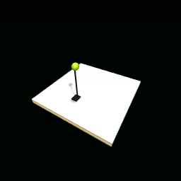 Small but tall lamp