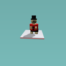 Monoply fat dancing man