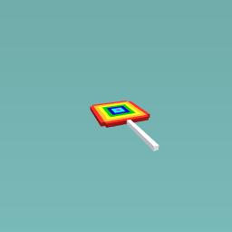 Rainbow Lollipop!