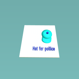 Hat for pollice man