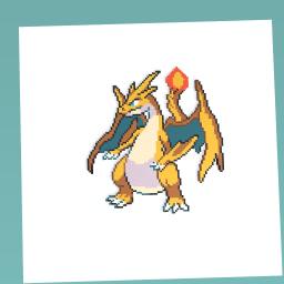 Fire dragon pokemon