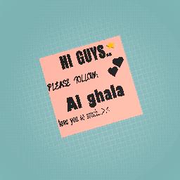 Al ghala ...❤️...