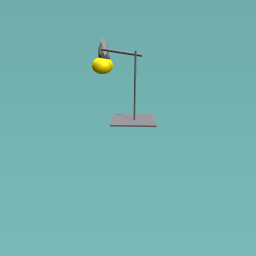 abstract floating lamp