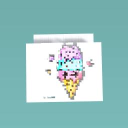 Ice cream kawaii :)