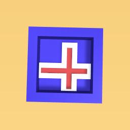 Iceland flag.