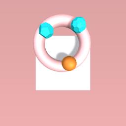 flamingo rings