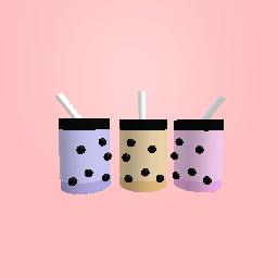 Cute aesthetic bubble tea!