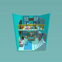 Blue Cute Room