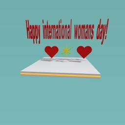 Happy international woman day!