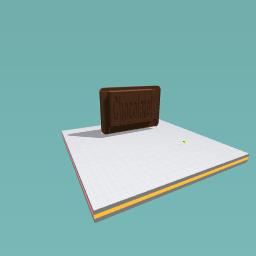 Chocolate game piece