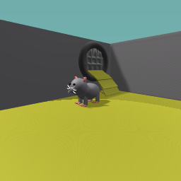mouse in the sewer