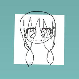 Cute anime girl!