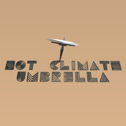 The Hot-Climate Umbrella