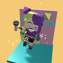 cute popstar