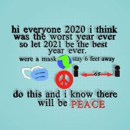 2021 is gonna be the best year ever