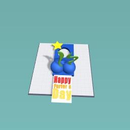 Happy Farter's Day Keychain!