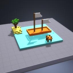 Garfield's Boat