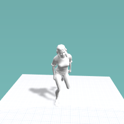 My running girl