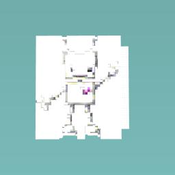 A robot!