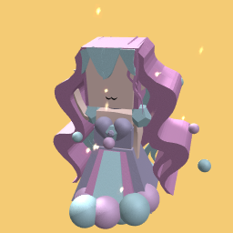 pastel (i didnt make this hair nor outfit)