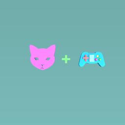 Joke: Cat + Video Games =