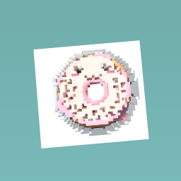 Donut face