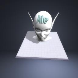 An alien named ale