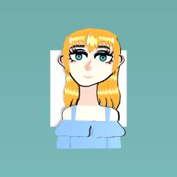 Beautiful Orange Girl