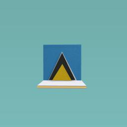 Sint lucia flag