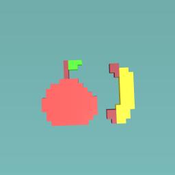 Apple and bannana