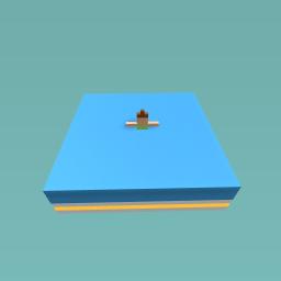 Sinking girl