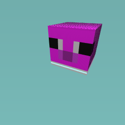Me cool minecraft pig
