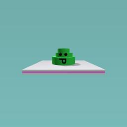 The little slime monster