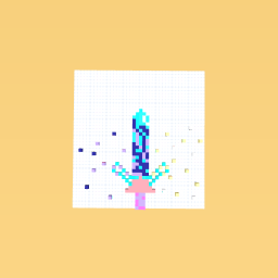 Magical Blocky Sword