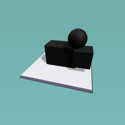 A ball and a box