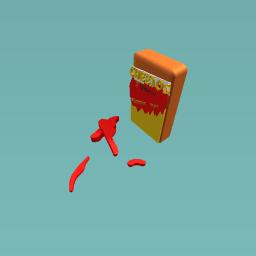 Hot cheetos