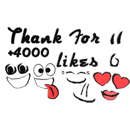 Thank you for 4000 likes