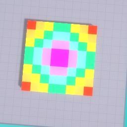 blocky rainbow