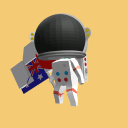 Aus space man