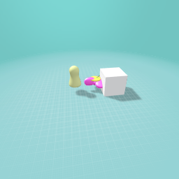 Robot giving a flower to a person