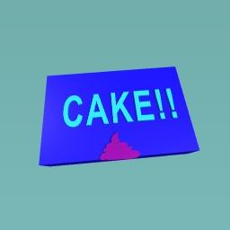 Cake land flag
