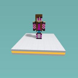 minecraft girl