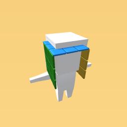 Rubiks head