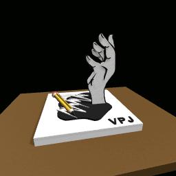 The Artist hand