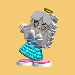 Ice girl free design