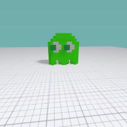 slimy green alien
