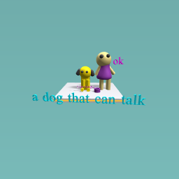 a dog that can talk